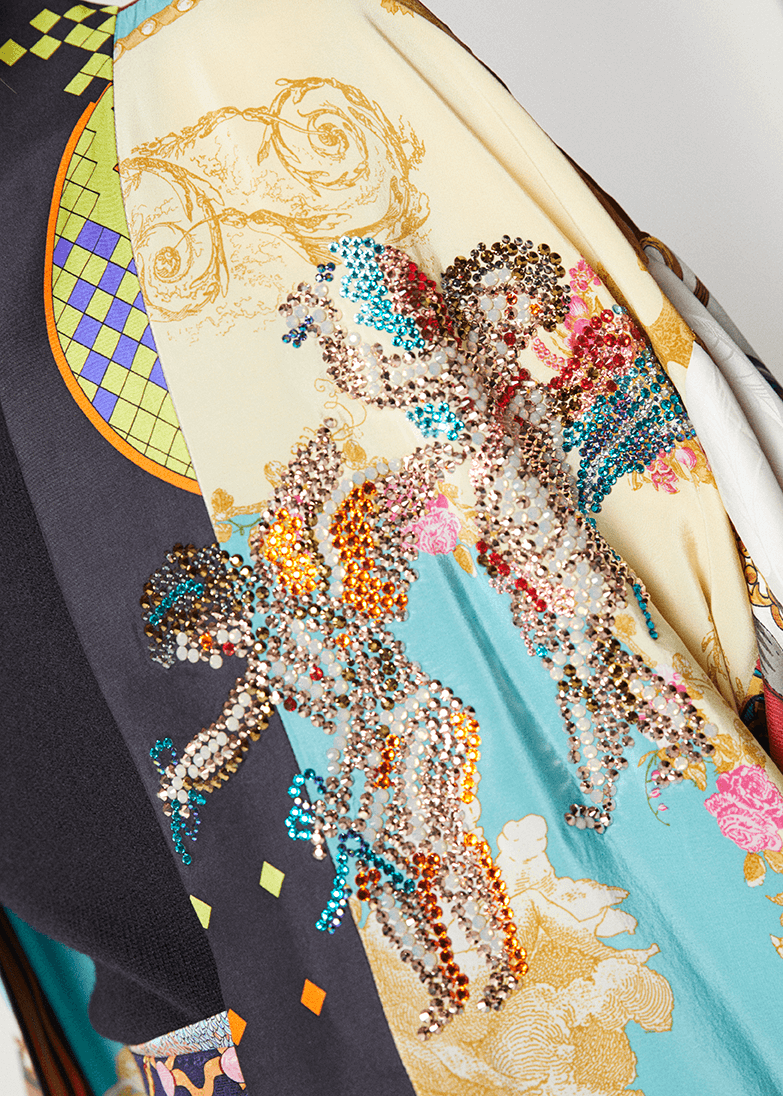 One-of-a-kind Kimono Exclusive Swarovski