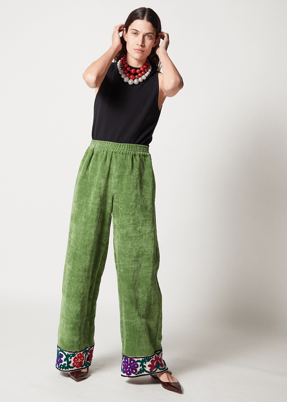One-of-a-kind Wide Leg Pants