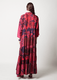 One-of-a-kind Volant Dress Dyed