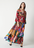 One-of-a-kind Volant Dress Long