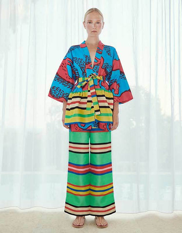 Loukoumi Kaftan Dress Ella Pique