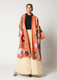 One-of-a-kind Obi Coat Reversible