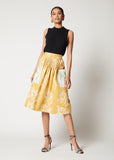 Kendima Skirt with Tucks