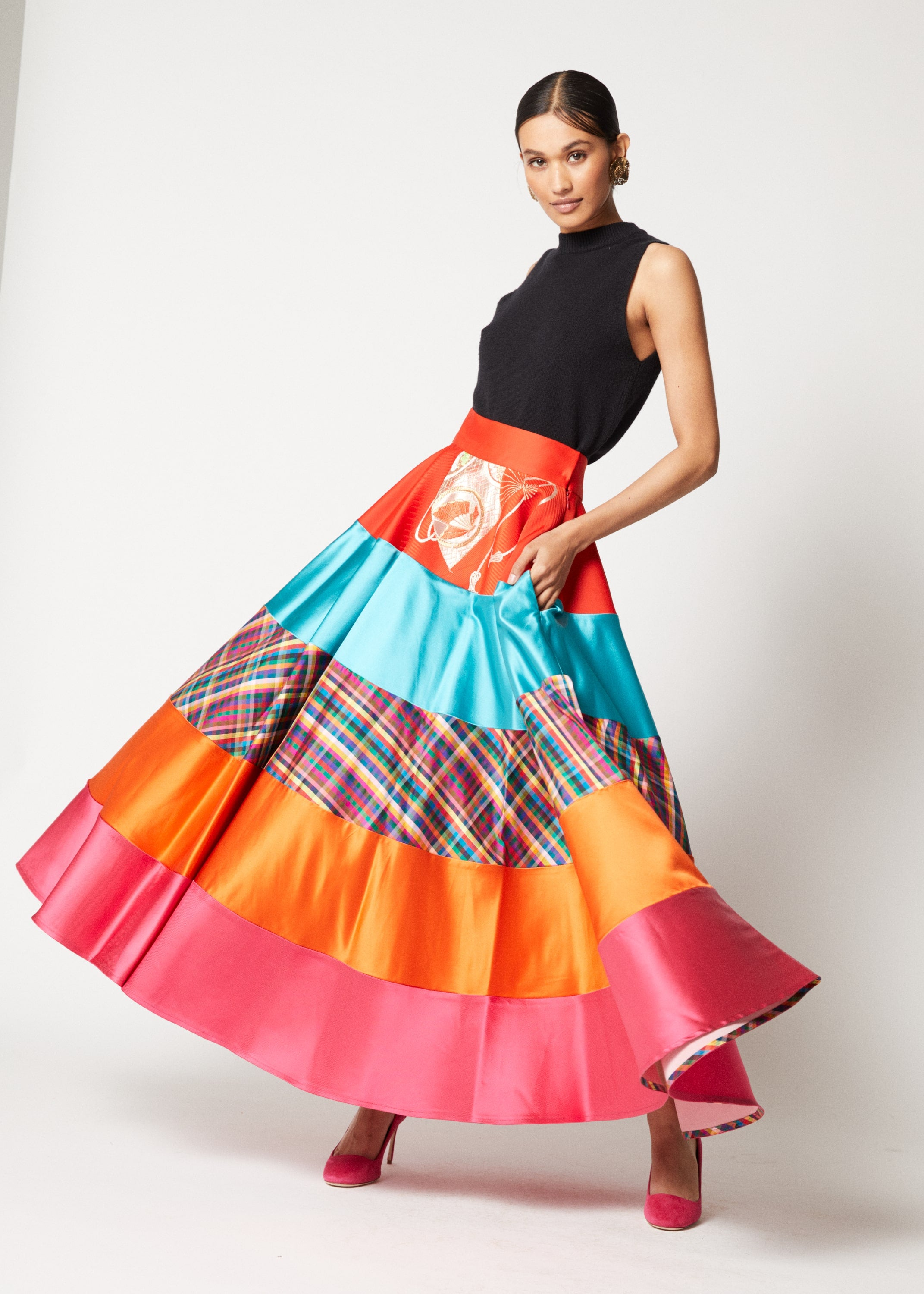 One-of-a-kind Circle Segment Skirt