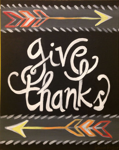 Give Thanks! November 11th