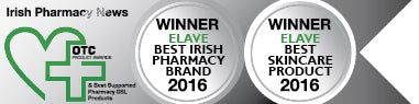 Best Irish Pharmacy Brand 2016, Best Skincare Product 2016
