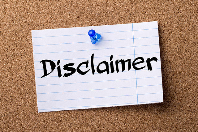 Image result for disclaimer