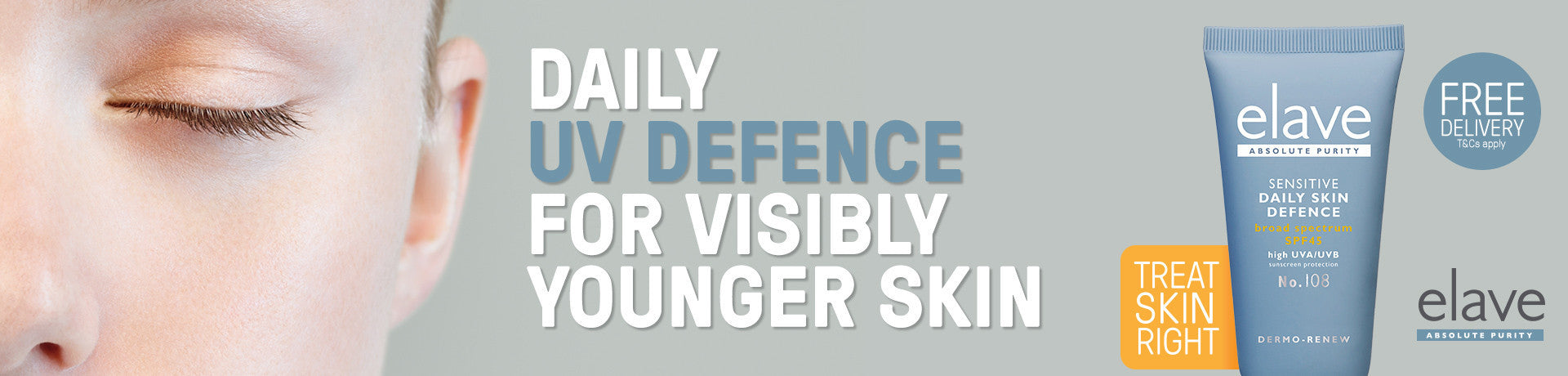 Boosting UV Defence for visibly younger skin