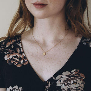 Gold Reflection Necklace