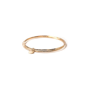 Triple Gold Bangle Bracelet
