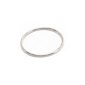 Simple Silver Stacker Ring