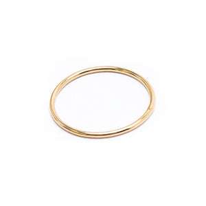 Simple Gold Stacker Ring
