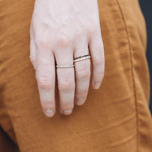 Enamel Stacking Gold Ring