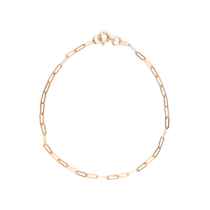 Super Dainty Chain Link Bracelet 5x2mm - 7