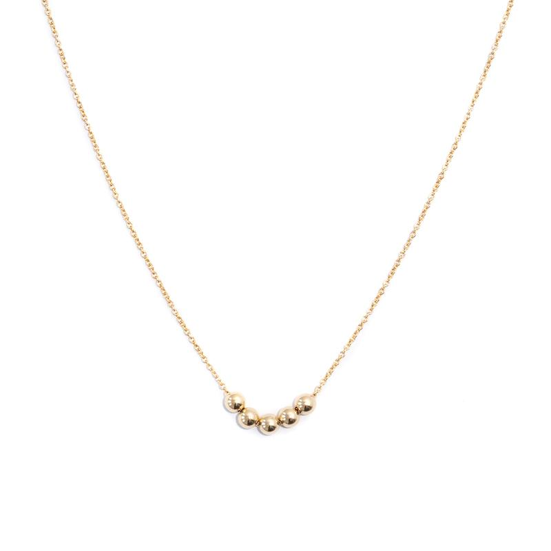 String Of Gold Necklace
