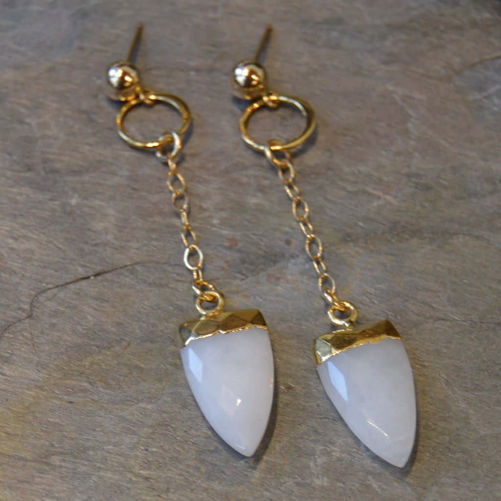Gold Calcite Drops