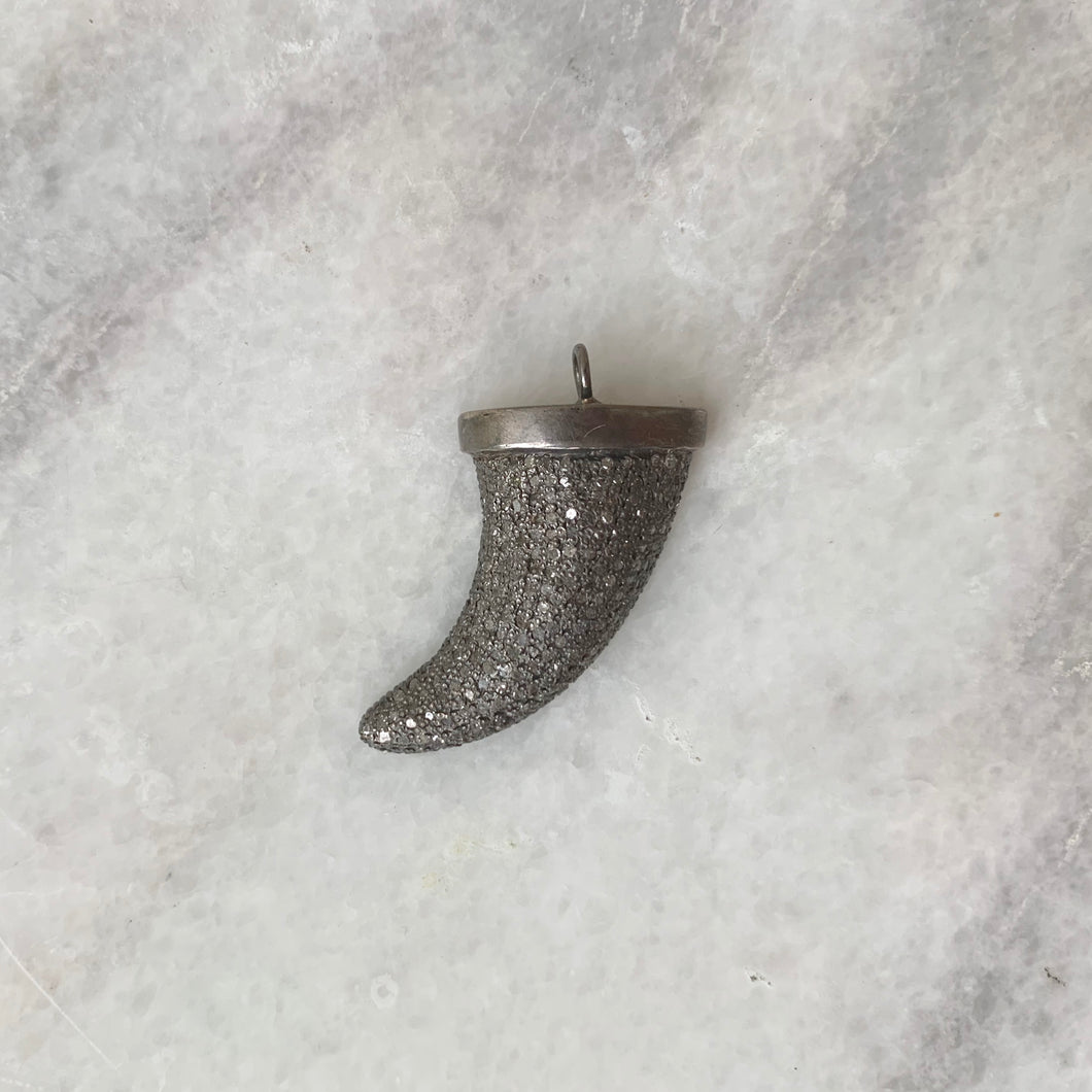 Diamond Horn Pendant