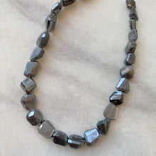 Large Faceted Moonstone Strand