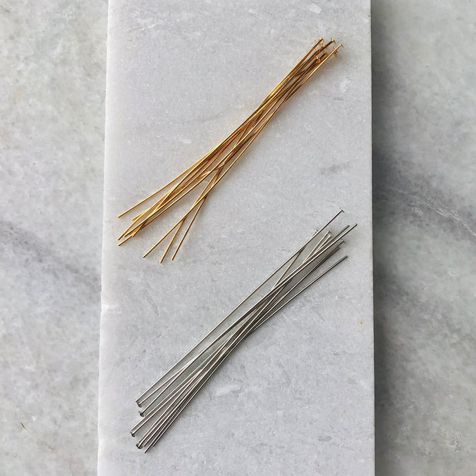 Plated Head Pins
