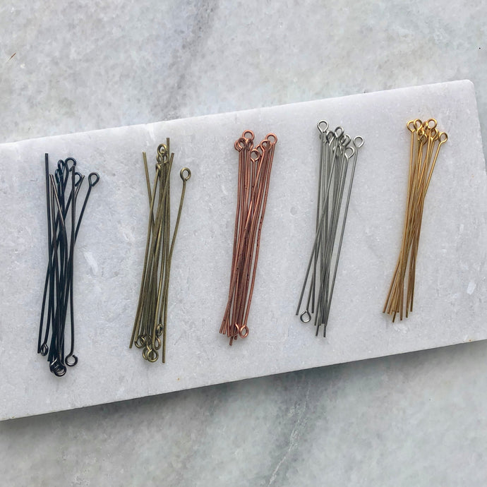 Plated Eye Pins