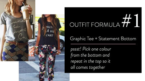 3a1105822188 We've made it easy by rounding up three Outfit Formulas and pieces to help  get the look. Scroll on and be inspired to shake up your tee routine!