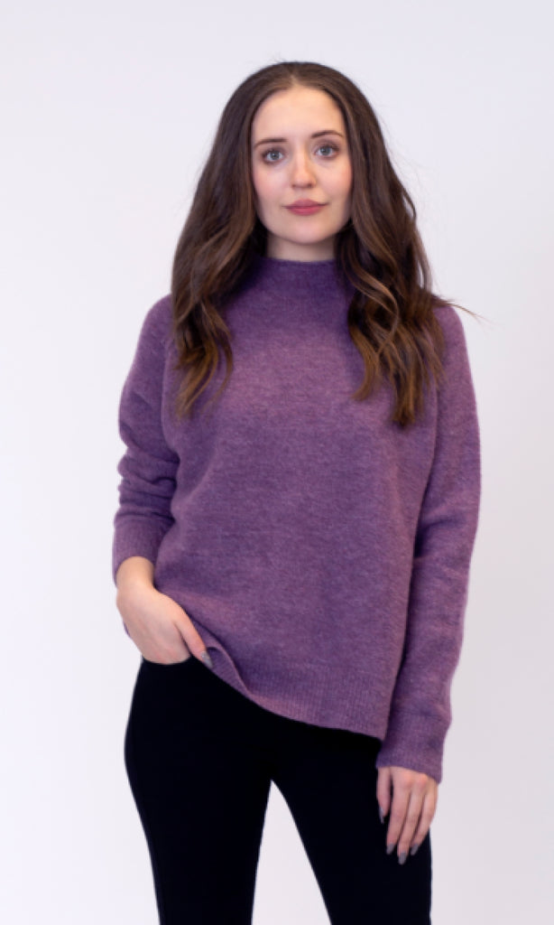 Sam Mock Neck Sweater