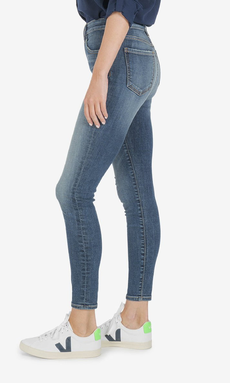 Donna High Rise Ankle Skinny - (Instant Wash)