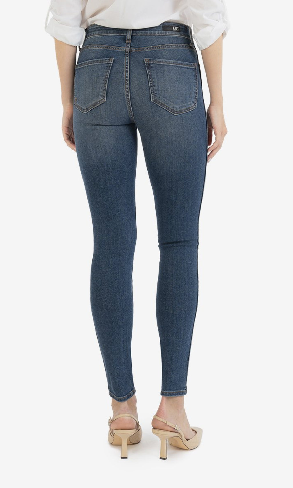 Mia High Rise Fab Ab Slim Fit Skinny