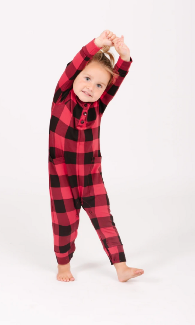 The S+T Present In Plaid Mini Romper