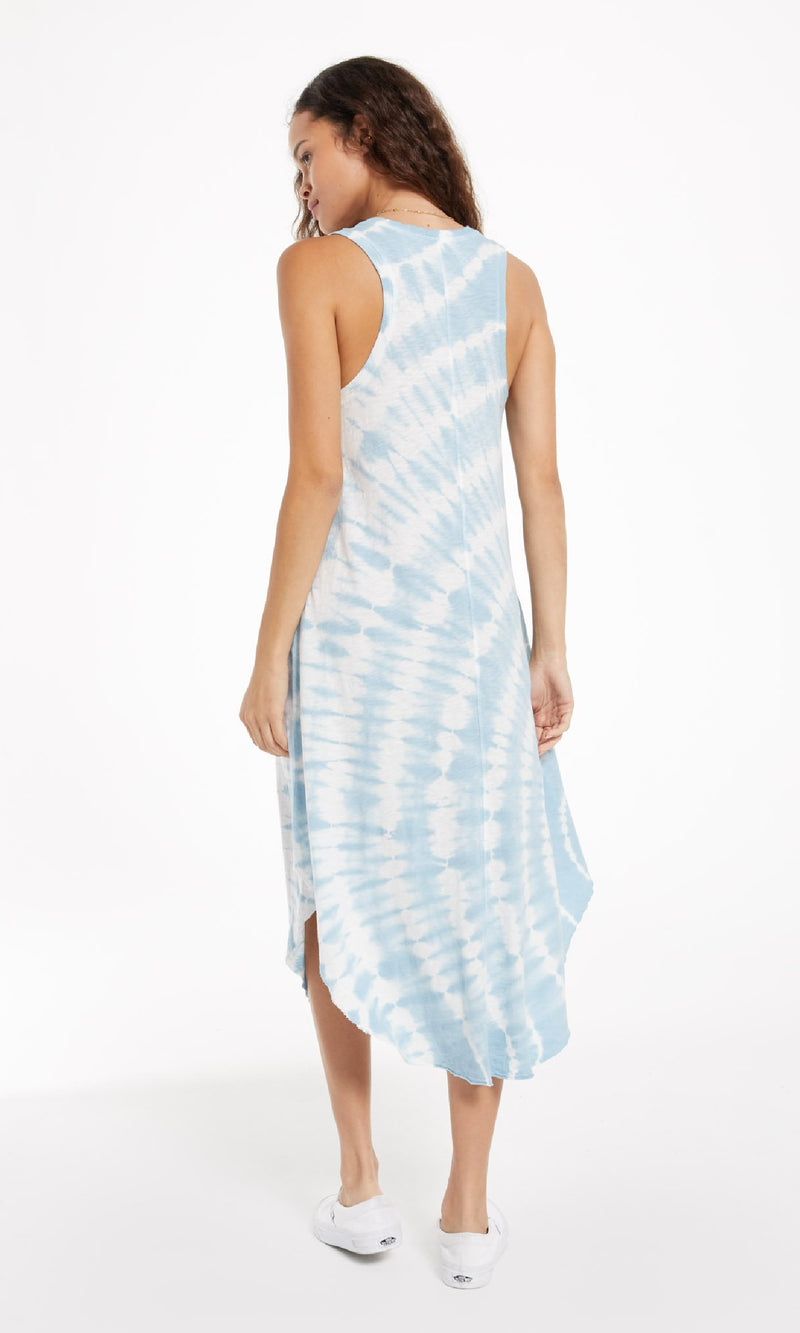 Reverie Tie Dye Handkerchief Dress