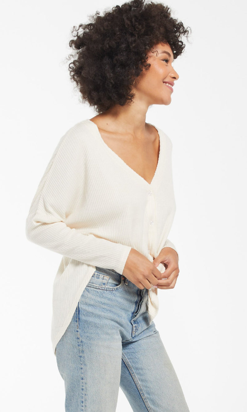 Calli Ribbed Top