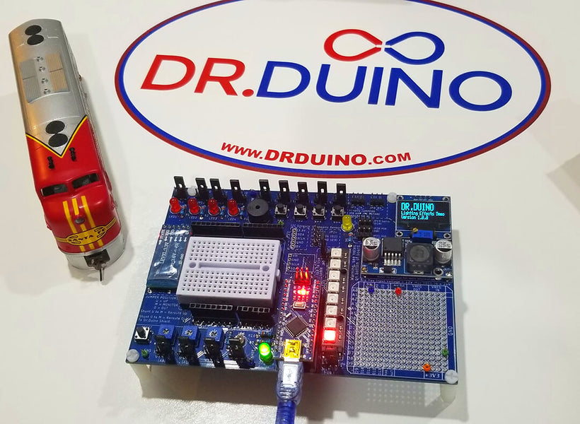 Dr.Duino Explorer & Model Rail Road Lighting Effects