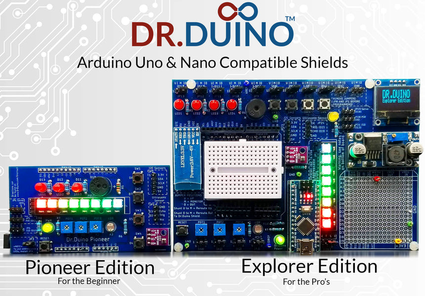 Dr.Duino Pioneer & Explorer Editions Released!