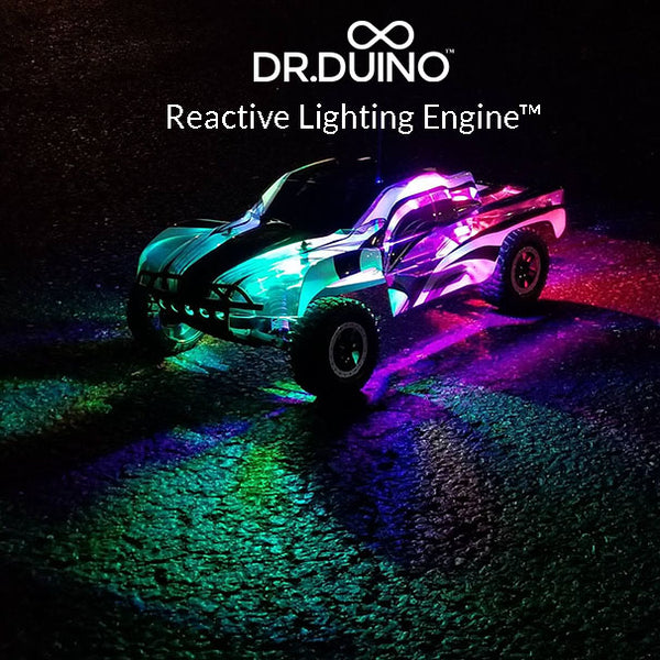 Dr.Duino's Reactive Lighting Engine for RC Vehicles