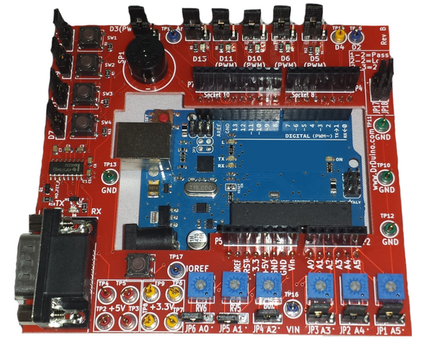 Easy arduino test kit debug with ease using dr duino