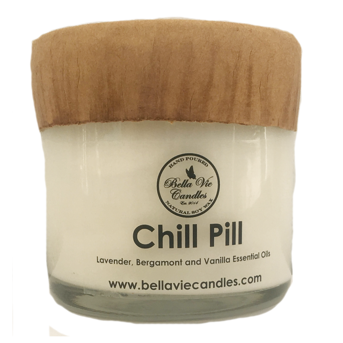 Chill Pill Original Scented Essential Oil Soy Candle