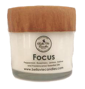Focus Aromatherapy  Soy Candle