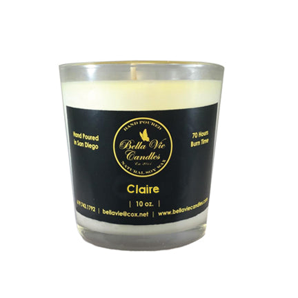 Claire Original Scented Soy Candle