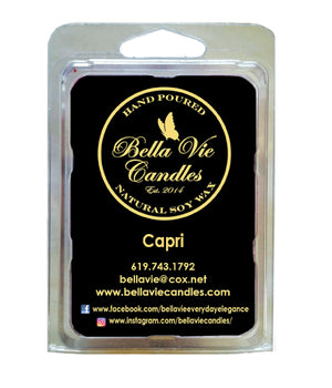 Capri Original Scented Soy Candle