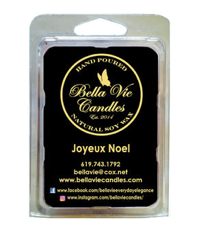 Joyeux Noel Original Scented Holiday Soy candle