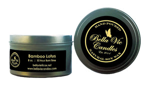 Bamboo Lotus Scented Soy Candle
