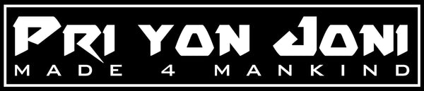 "M4MC X PYJ ""BOX LOGO"" STICKER - Made4Mankind Clothing"