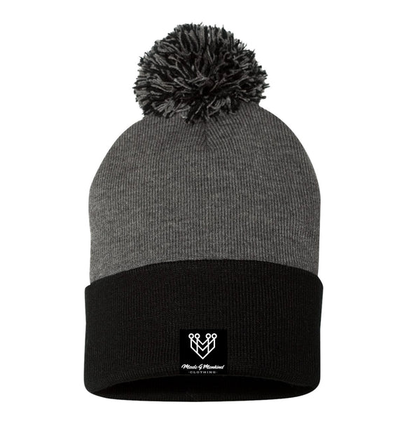 SIGNATURE LOGO BEANIE - Made4Mankind Clothing
