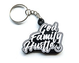 God Family Hustle Keychain - Made4Mankind Clothing