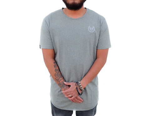 PREMIUM ESSENTIAL TEES 2.0 - HEATHER GREY (UNISEX) - Made4Mankind Clothing