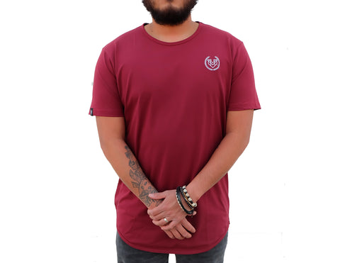 PREMIUM ESSENTIAL TEES 2.0 - MAROON (UNISEX) - Made4Mankind Clothing