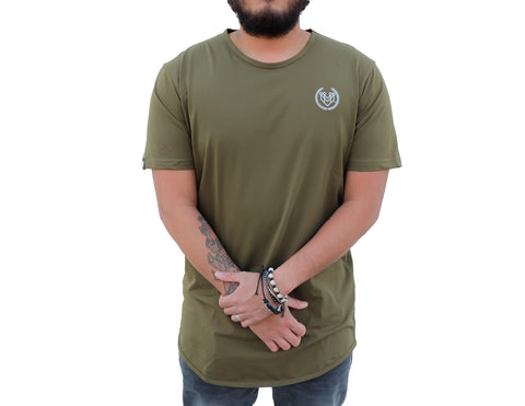 PREMIUM ESSENTIAL TEES 2.0 - OLIVE GREEN (UNISEX) - Made4Mankind Clothing