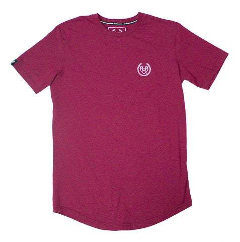 PREMIUM ESSENTIAL TEES 3.0 - MAROON - Made4Mankind Clothing