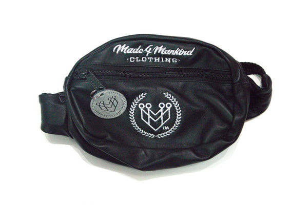 M4MC WAIST BAG - BLACK - Made4Mankind Clothing