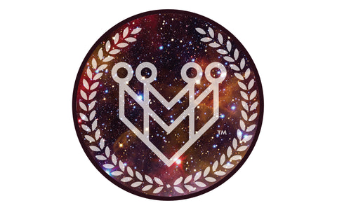 "M4MC ""Galaxy Logo"" Sticker - Made4Mankind Clothing"